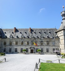Chimay Castle / opening to confirm