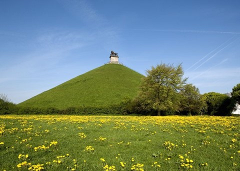 Schlachtfeld von Waterloo - Memorial Waterloo 1815